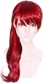 コスプレ ウィッグ 芳澤霞 ペルソナ5 ウィッグ かつら 高温耐熱 コスプレ cosplay wig レッド