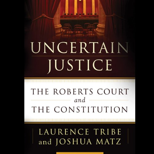 Uncertain Justice audiobook cover art
