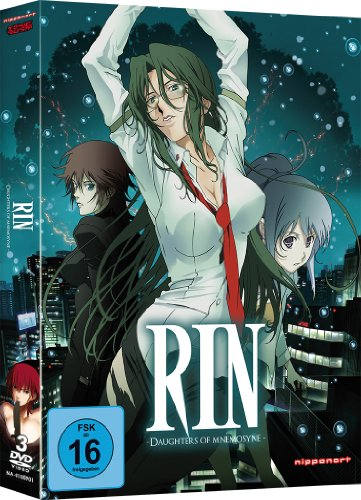 Rin - Daughters of Mnemosyne - Gesamtausgabe - [DVD]