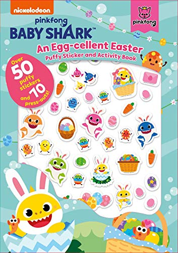 Baby Shark: An Egg-Cellent Easter Puffy Sticker and Activity Book