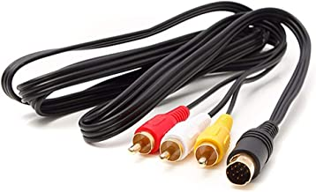 Wiresmith Standard RCA AV Composite Cable for Sega Saturn
