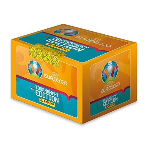 Panini UEFA Euro 2020 - Confezione da 100 adesivi