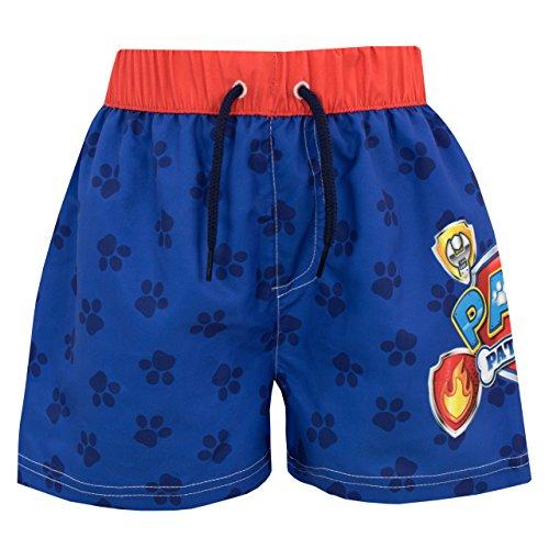 Paw Patrol Boys Chase Marshall & Group Swim Set Age 6 to 7 Years Blue