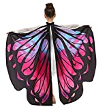Oyedens Schmetterlingsflügel Kinder Jungen Mädchen, Karneval Schmetterlingsflügel Kostüm Pixie...