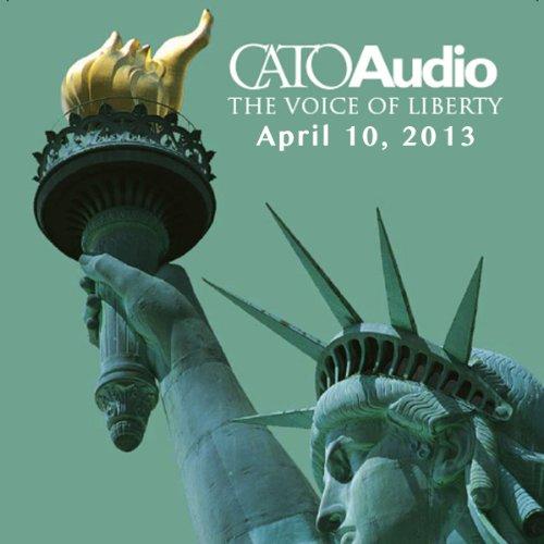 CatoAudio, April 2013 audiobook cover art