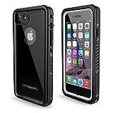 OTBBA iPhone 7/8 Waterproof Case, Waterproof Shockproof Snowproof Dirtproof Full Body Protective Underwater Case for iPhone 7/8 (Black)