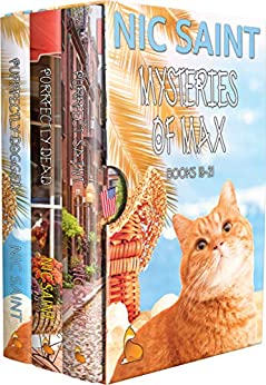 The Mysteries of Max: Books 19-21 (The Mysteries of Max Box Sets Book 7) by [Nic Saint]