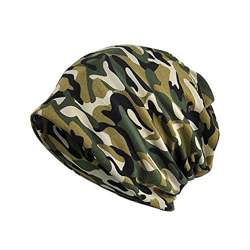 YWLINK Slouch Beanie MüTzen Camouflage Woodland FüR Damen Herren MäDchen Jungen Hat Unisex One Size