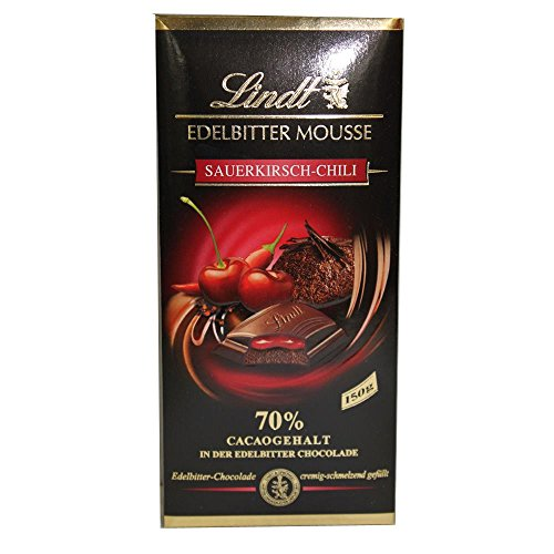 Lindt Edelbitter Mousse Sauerkirsch Chili