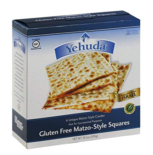 Yehuda Matzo Squares Gluten-Free 10.5 Ounce (Pack of 6)