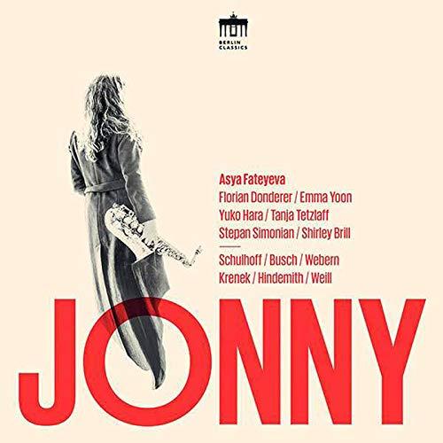 Jonny. Musique de chambre pour saxophone dans les années 1920. Fateyeva, Yoon, Donderer, Hara, Tetzlaff, Simonian, Brill.