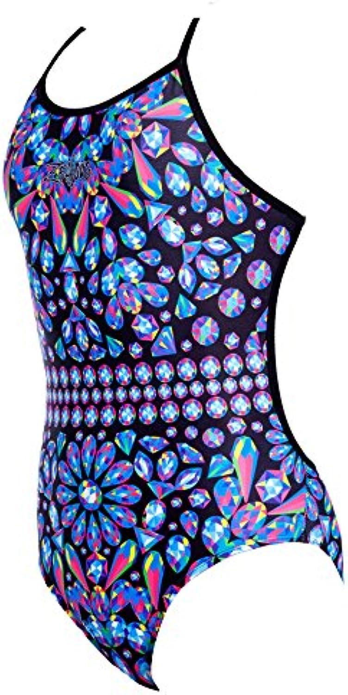 Zealous Zealous Zealous damen Glitter Snap Swimsuit B01M0S8NNF  Komfortabel und natürlich 2dd72a