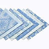 Fat Quarter Fabric Bundles Pre-Cut Checker...