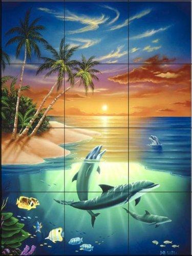 Sangean h201 am november 2011 for Dolphin tile mural