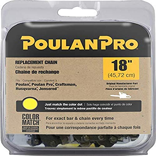 Poulan Pro, 18-Inch Replacement Chain Saw