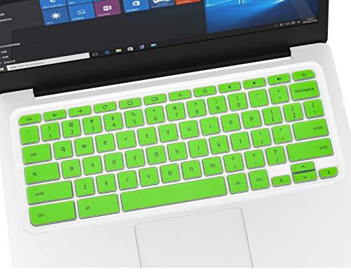 Keyboard Cover Skins for 11.6' 2020-2017 Acer Premium R 11/Acer Chromebook Spin 11 CP311 511/Chromebook 11 CB3-131/Chromebook R11/13.3' Chromebook R 13 CB5-312T/Chromebook 15 CB3-532 -Green