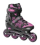 Roces Mädchen Jokey 3.0 Girl Inline-Skates, Black-pink, 30/33