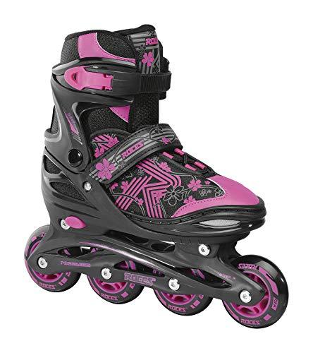 Roces Mädchen Jokey 3.0 Girl Inline-Skates, Black-pink, 34/37