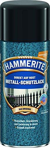 AKZO NOBEL (DIY HAMMERITE) Metall-Schutzlack Hammerschlag Silbergrau 0,400 L, 508761 Farbe: Hammerschlag Silbergrau