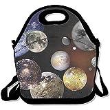 La correa ajustable de la bolsa de almuerzo del Sistema Solar