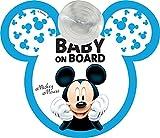 Disney Mickey Segnale Auto Baby On Board Mickey Mouse Topolino Attacco A Ventosa - 500 g