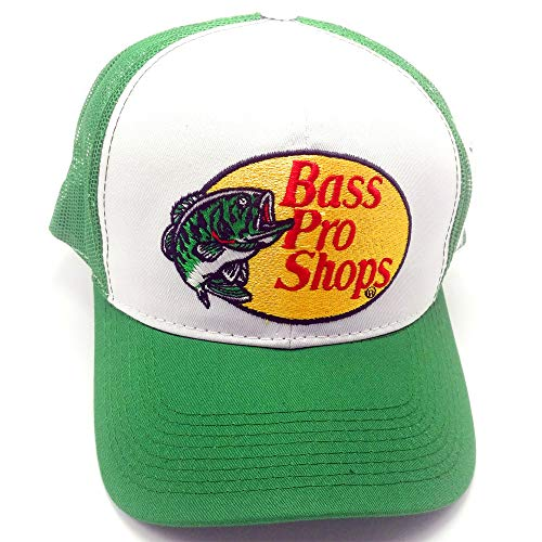 Bass Pro Shops Men's Trucker Hat Mesh Cap Snapback Closure One Size Fits Most Great for Hunting & Fishing