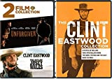No Name Unfogiven Western Movies Outlaw Josey Wales Clint Eastwood Collection Series Good Bad and Ugly/A Fistful/For a Few Dollars More/Hang 'em High