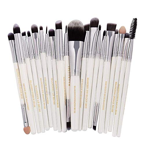 JFFFFWI Pinceau de Maquillage Cosmetic Brush Suite 20 Cosmetic Brush Suits Classic, A
