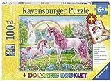 Ravensburger 13698–Puzle Unicornio mágico