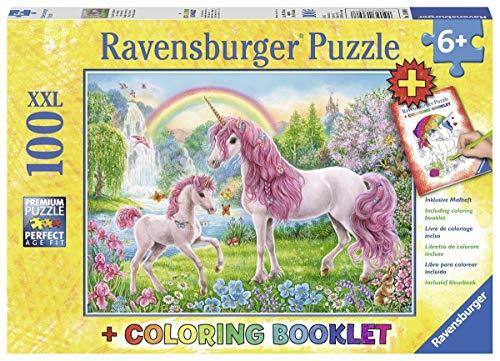 Ravensburger Kinderpuzzle 13698 - Magische Einhörner 100 Teile XXL - Puzzle für Kinder ab 6 Jahren