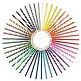 Set di pastelli acquerellabili - colori atossici e facili da sfumare - temperino e pennello inclusi - 48 pezzi