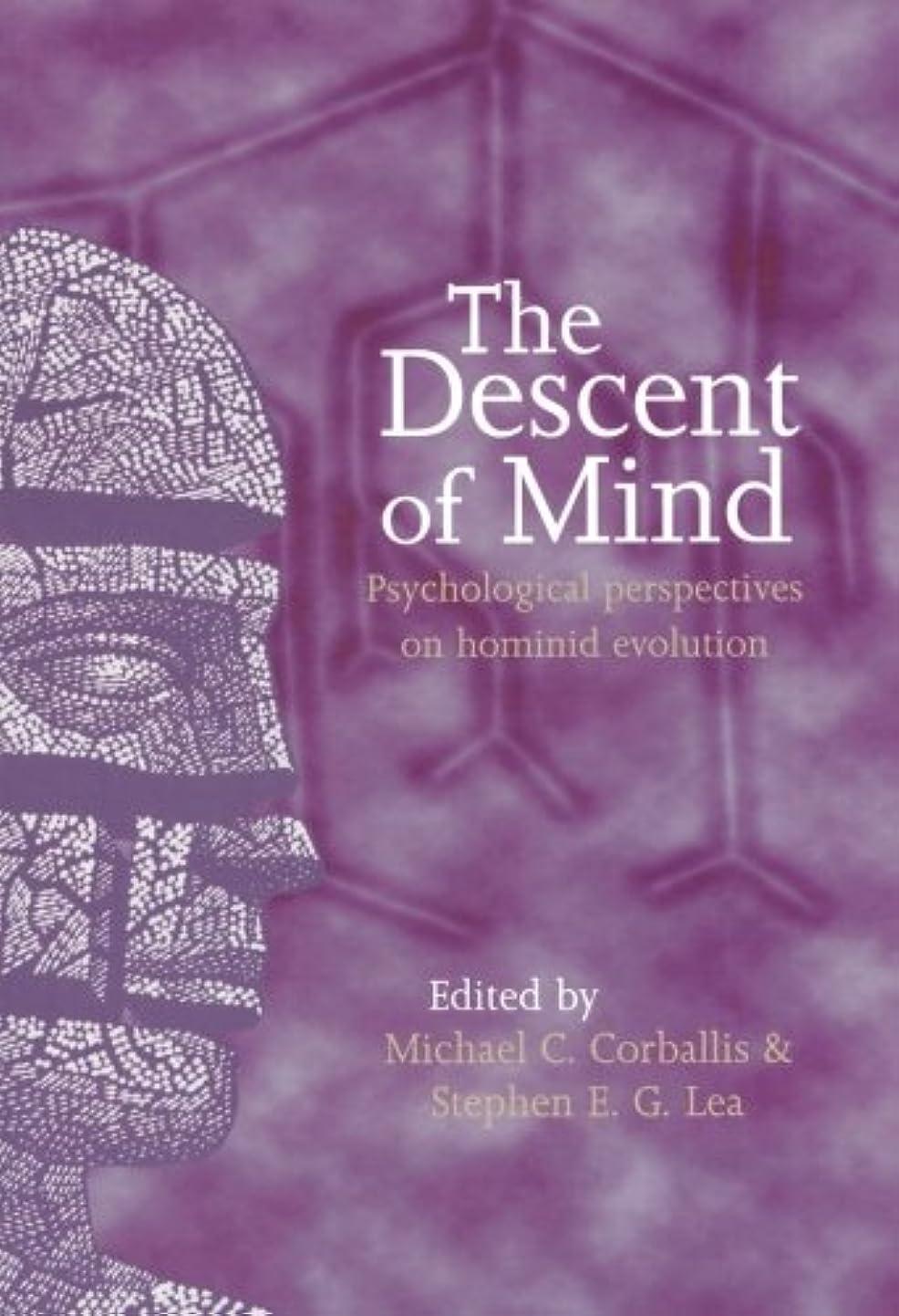 天文学スラダムアーサーコナンドイルThe Descent of Mind: Psychological Perspectives on Hominid Evolution