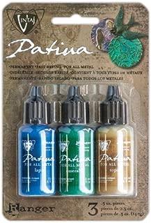 Vintaj Patina Faded Pickup Kit - Lapis, Emerald & Topaz