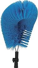"Vikan 53713 Soft Bristle CIP Brush, 20-55/64"" Polyester, Blue"