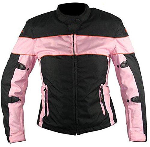 Dames Motorfiets Bikers 100% Waterdicht Wind Proof Jas met Beschermende Ce Armours in