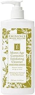 Eminence Organic Skincare Monoi Age Corrective Exfoliating Cleanser, 8.4 Ounce