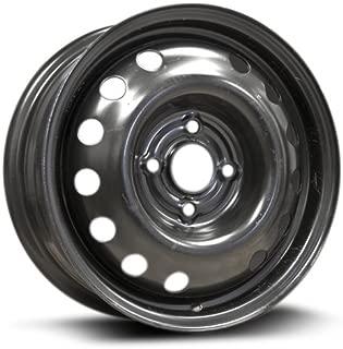 RTX, Steel Rim, New Aftermarket Wheel, 14x5.5, 4-100, 57.1, 45, black finish X99148N