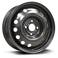 New Aftermarket steel rim / wheel, perfect for replacement wheel, spare tire / rim or full wheel swap. All RTX steel rims / wheels are tested and approved to meet or exceed Certified Quality Standards Rim / Wheel size: 14X5.5 Bolt Pattern: 4-100 Cent...