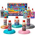 Elmer'S Celebration Slime Kit | Slime Supplies Include Assorted Magical Liquid Slime Activators and Assorted Liquid Glues, 10 Count from