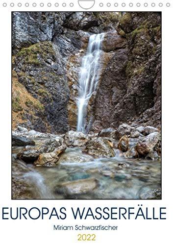 Europas Wasserfälle (Wandkalender 2022 DIN A4 hoch)