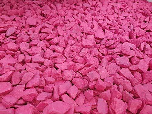 PREMIUM QUALITY 20kg-decorative-garden-stone-(Hot-Pink)(black garden stones/blue garden stones/garden stones and pebbles bulk/blue stones/coloured stones/grave stones/coloured stones for gardens)