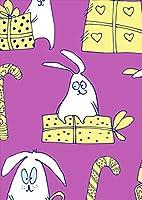 igsticker ポスター ウォールステッカー シール式ステッカー 飾り 1030×1456㎜ B0 写真 フォト 壁 インテリア おしゃれ 剥がせる wall sticker poster 004929 スポーツ うさぎ キャラクター プレゼント