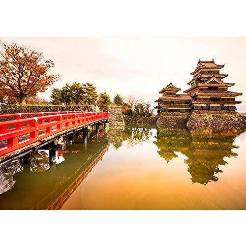 Bolsas de papel de Ciudad de Japón de puente de - no, 263 papel pintado de papel pintado de papel pintado cuadro de imagen de la foto de Ciudad de Japón de puente de agua y de paz romántico