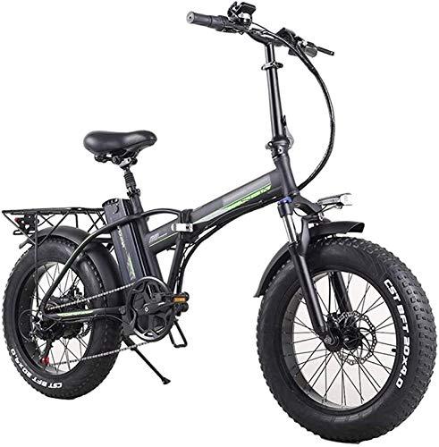 Bicicleta electrica Bicicleta eléctrica, bicicleta de cercanías plegables de 350W para adultos,...