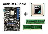 Aufrüst Bundle - MSI 770-C45 + Athlon II X4 610e + 16GB RAM #129266