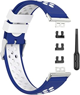 DALIN - Cinturino di ricambio in silicone per orologio Huawei Watch Fit