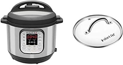 Instant Pot Duo 7-in-1 Electric Pressure Cooker, Sterilizer, Slow Cooker, Rice Cooker, Steamer, Saute, Yogurt Maker, and W...