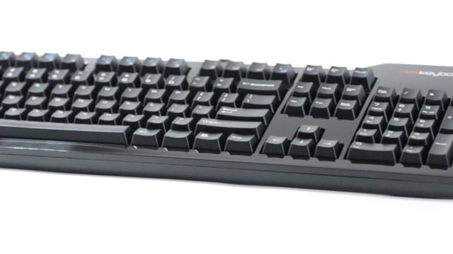 Das Keyboard Model S Professional Mechanical Keyboard - High Performance Clicky Tactile Feedback - Enhanced 104 Key Layout - Laser Etched Keycaps to Prevent Fading - Cherry MX Blue Switches - Ultra Sleek Design