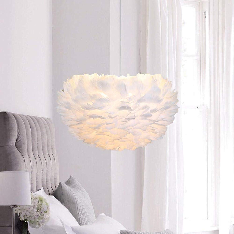 Schlafzimmer led kronleuchter warm romantisch nordisch kreativ wohnzimmer ins mdchen hauptschlafzimmer kind persnlichkeit feder lampe 30cm