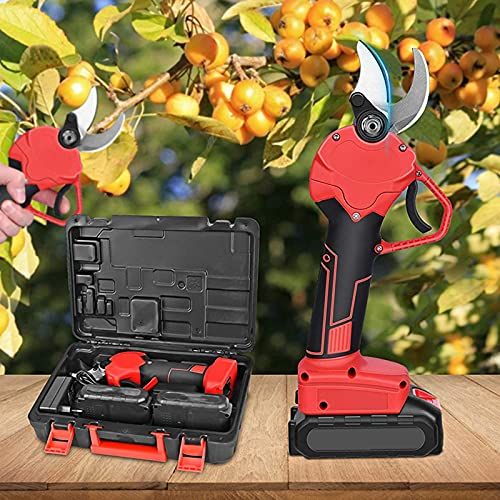 4YANG Tijeras de podar eléctricas, 30 mm Tijeras eléctricas inalámbricas Recargables Tijeras...